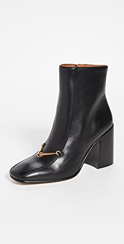 Tory Burch - Equestrian Link 85mm Ankle Booties