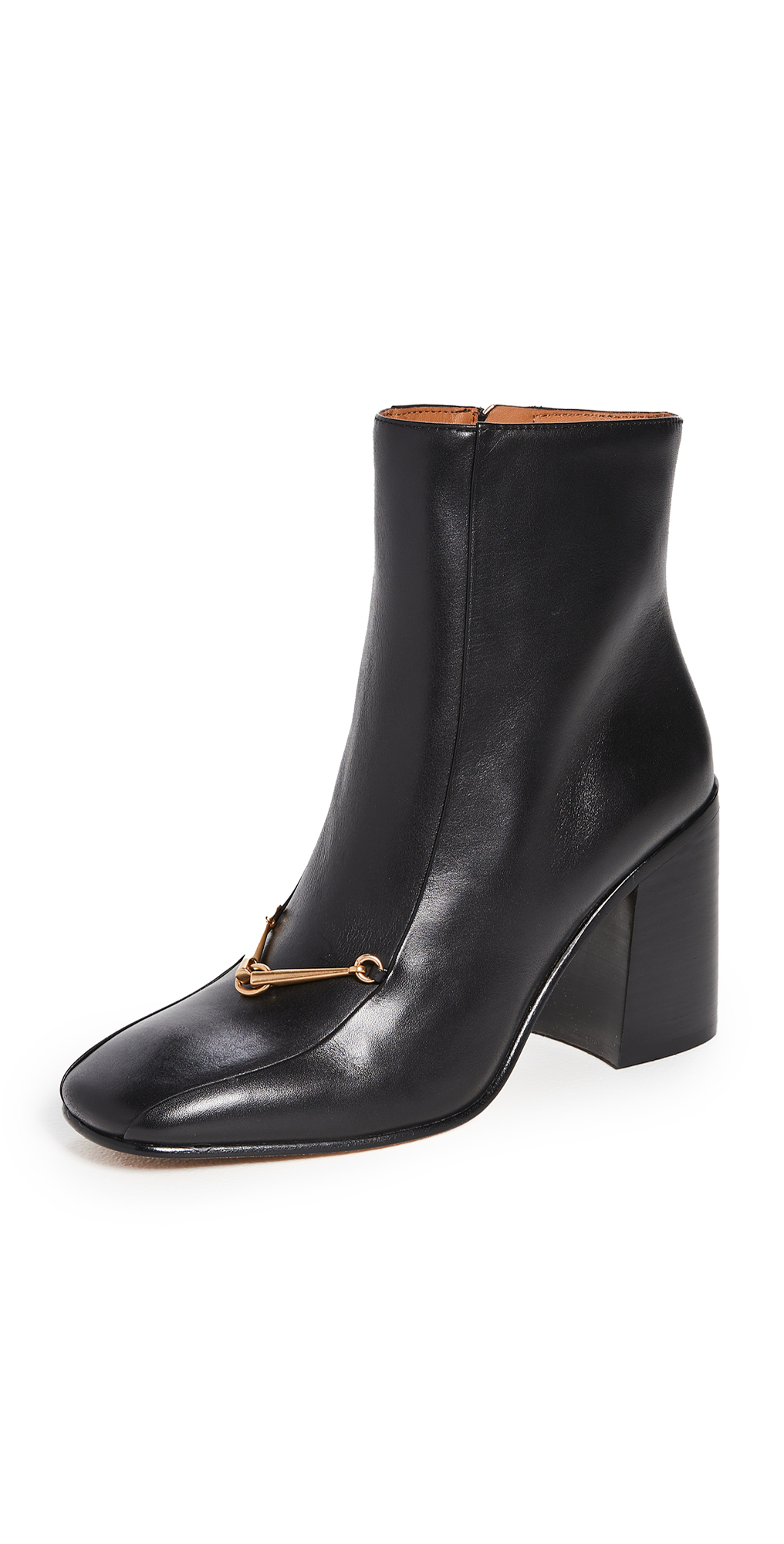 Tory Burch Equestrian Link 85mm Ankle Booties