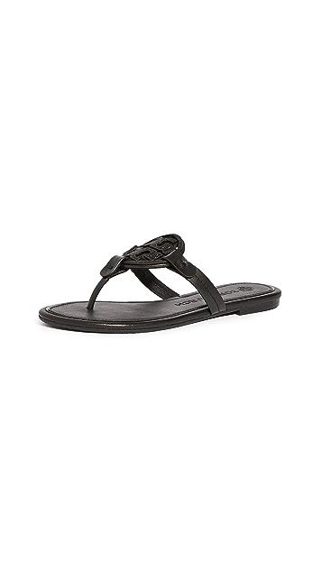 Tory Burch Miller 金属元素凉鞋