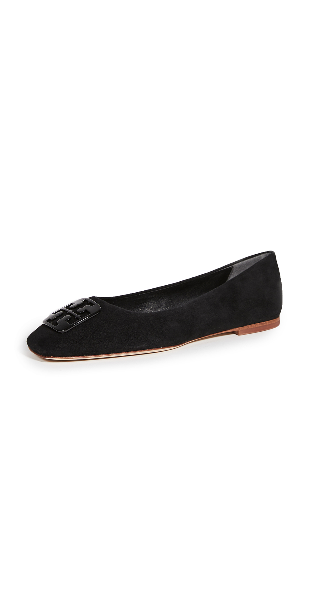 Tory Burch Square Toe Ballet Flats
