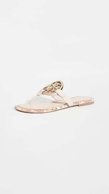Tory Burch Enamel Miller Sandals