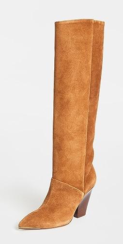 Tory Burch - 90mm Lila Knee Boots