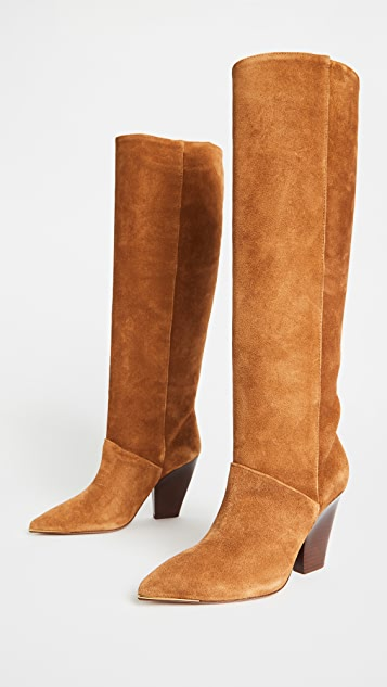 Tory Burch 90mm Lila Knee Boots