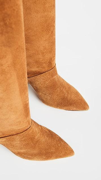 Tory Burch 90mm Lila 及膝靴