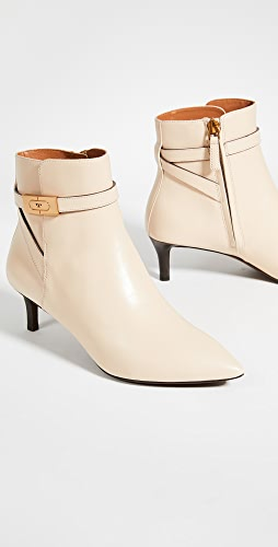 Tory Burch - T Hardware 55mm Kitten Heel Booties