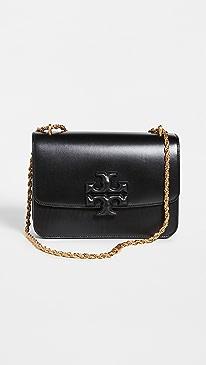 토리버치 Tory Burch Eleanor Convertible Shoulder Bag,Black