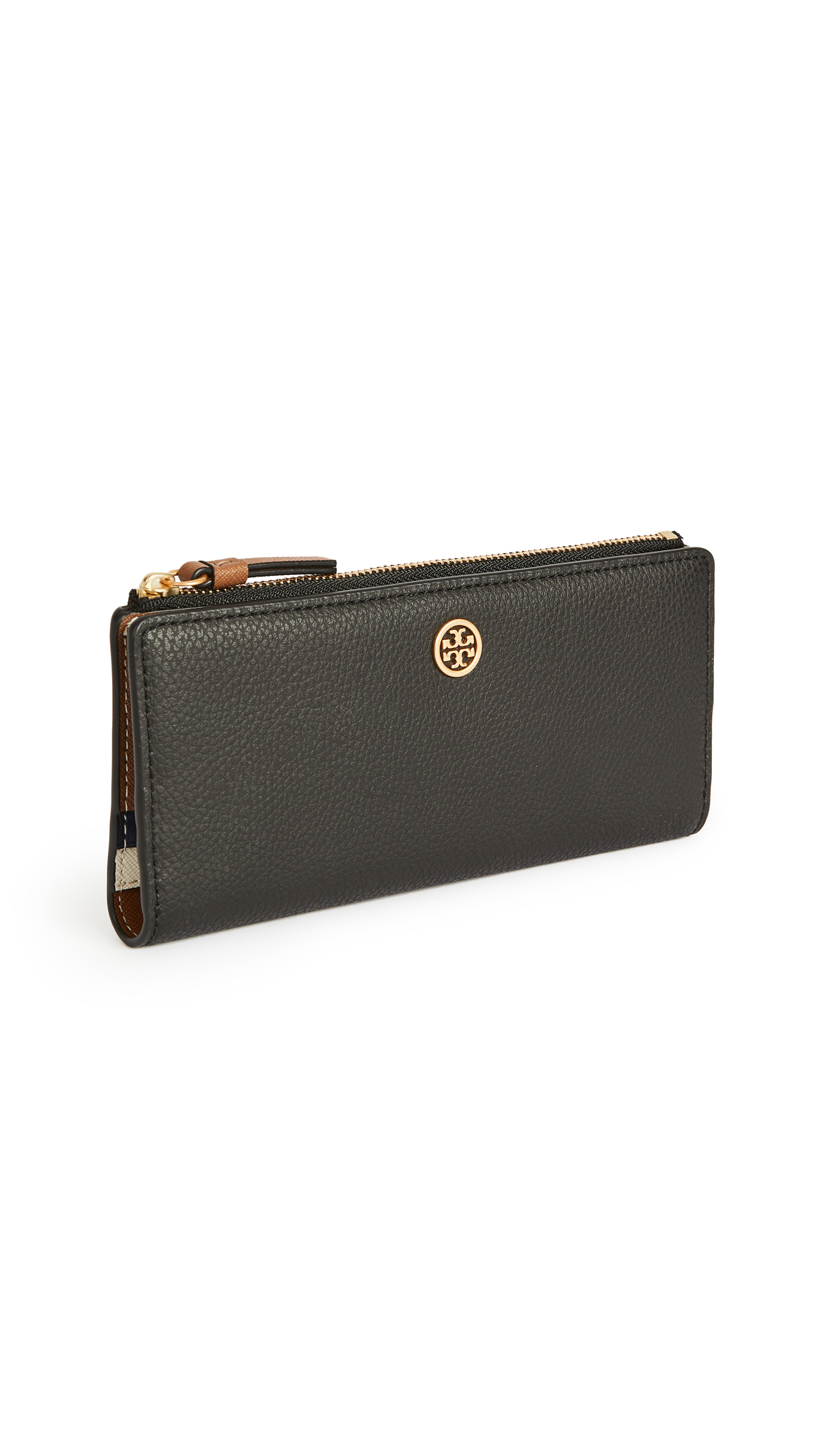 Tory Burch Walker Zip Slim Wallet