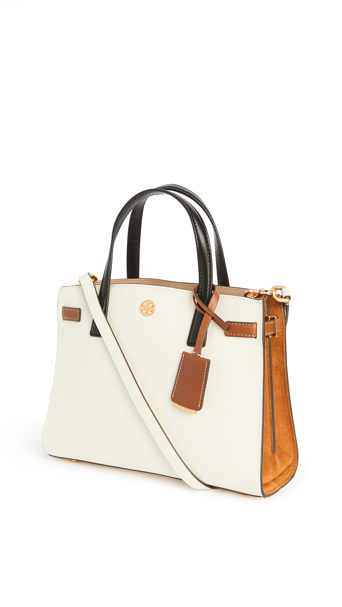 Tory Burch Walker Colorblock Small Satchel Bag