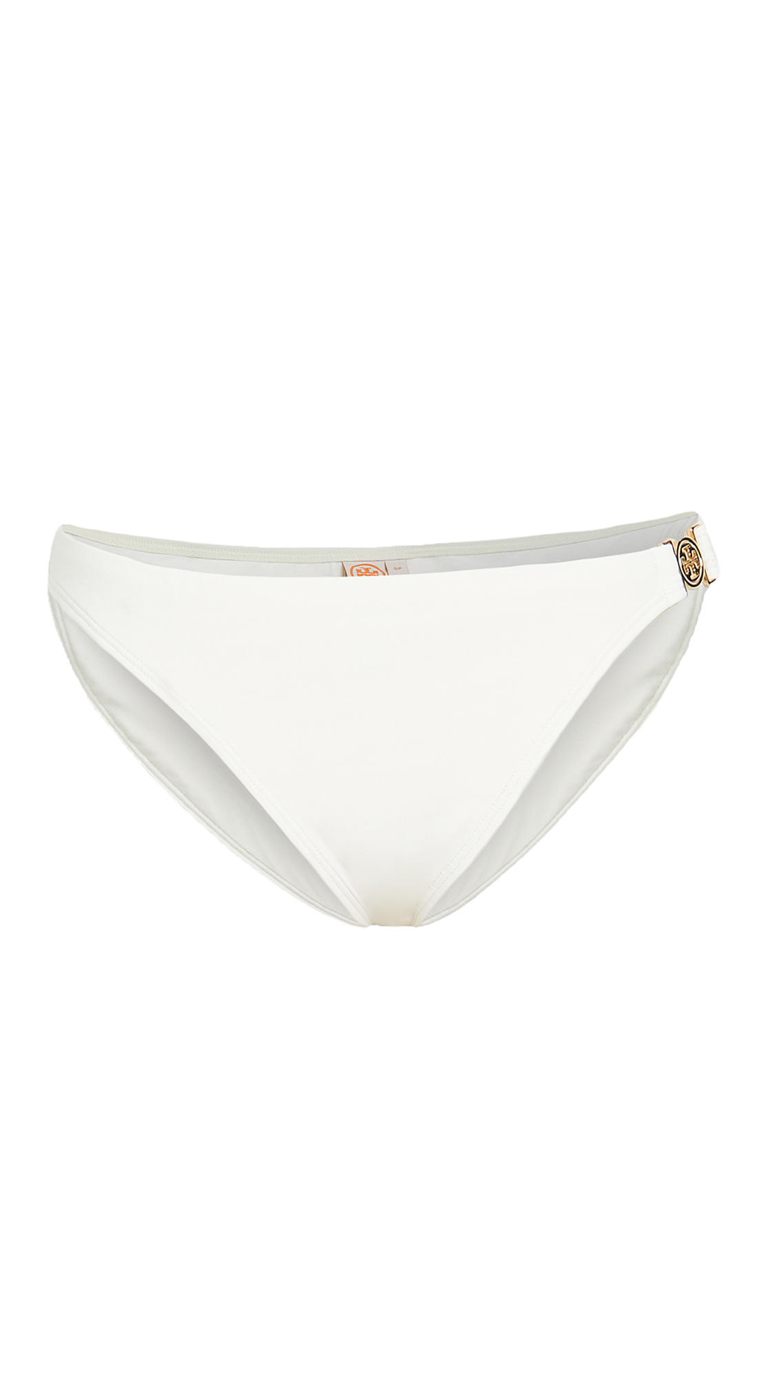 Tory Burch Miller Hipster Bikini Bottom In White