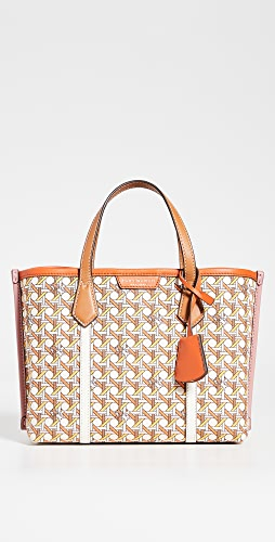 Tory Burch - Perry Printed Canvas Small Tote