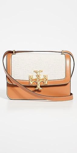 Tory Burch - Eleanor Canvas Convertible Shoulder Bag