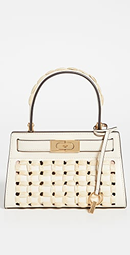 Tory Burch - Lee Radziwill Raffia Punch Petite Bag