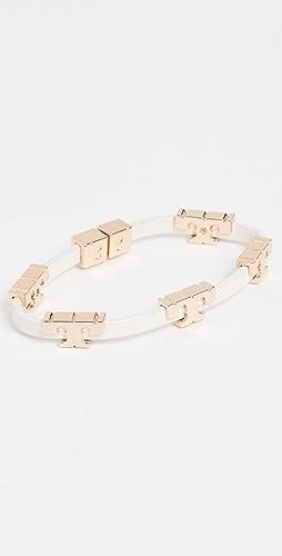 Tory Burch - Serif T Stackable Bracelet