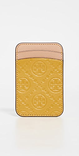 Tory Burch - T Monogram Leather Card Phone Pocket
