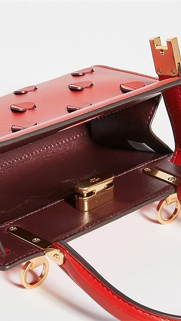 Tory Burch Lee Radziwill Applique Petite Bag