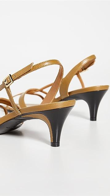 Tory Burch 绑带 55mm 凉鞋