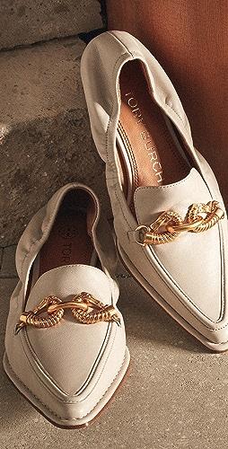 Tory Burch - Jessa Pointy Toe 20mm Loafers