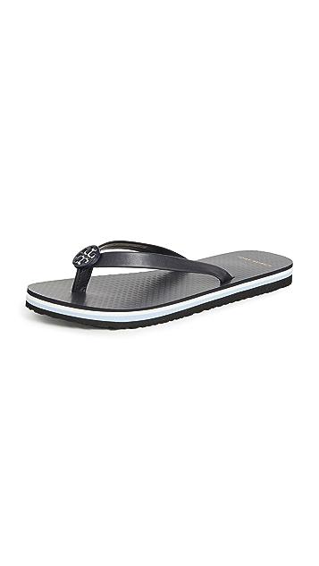 Tory Burch Mini Minnie Flip Flops
