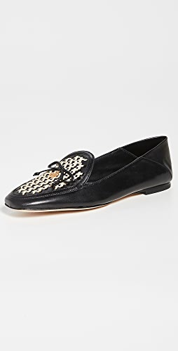 Tory Burch - Tory Charm Woven 5mm Loafers