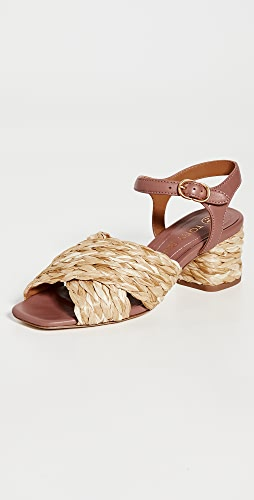 Tory Burch - Kira Quilted 55mm Heel Sandals
