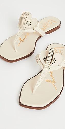 Tory Burch - Heart Thong Sandals