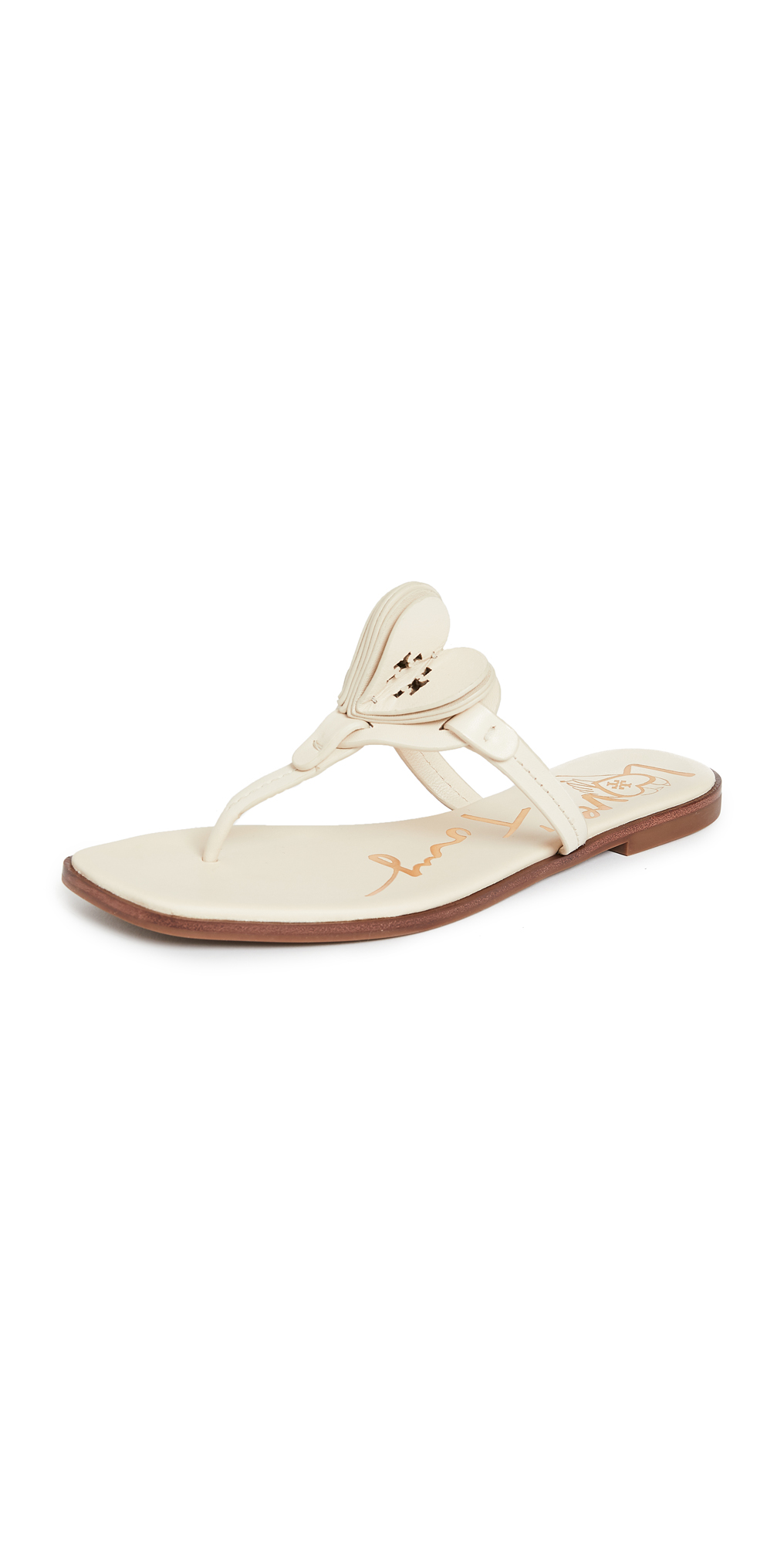 Tory Burch Heart Thong Sandals