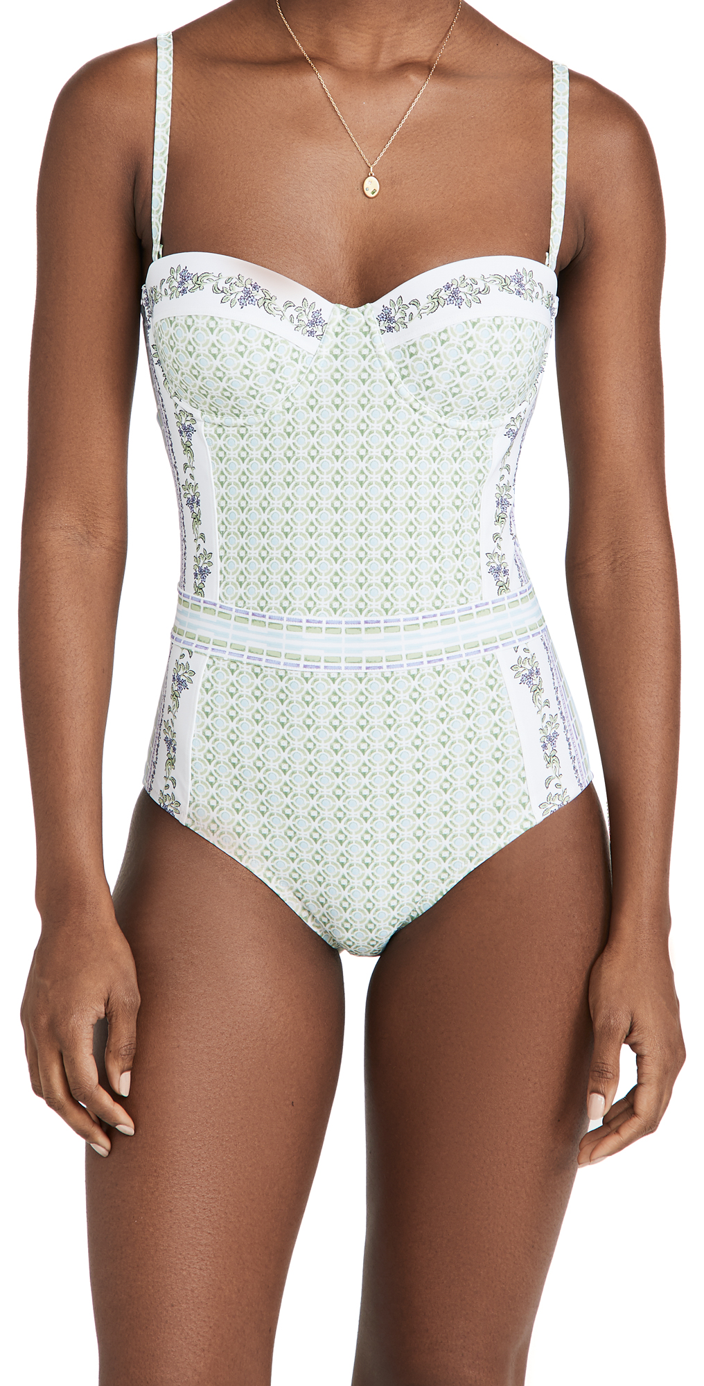 Tory Burch One-pieces LIPSI PRINTED ONE PIECE SWIMSUIT