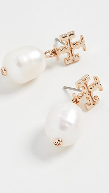 新品上线 水晶珍珠吊坠耳环