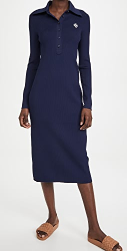 Tory Burch - Ribbed Polo Dress