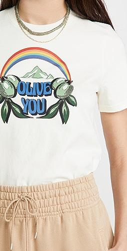Tory Burch - Olive You T-Shirt