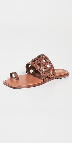 Tory Burch - Basket Weave Slides