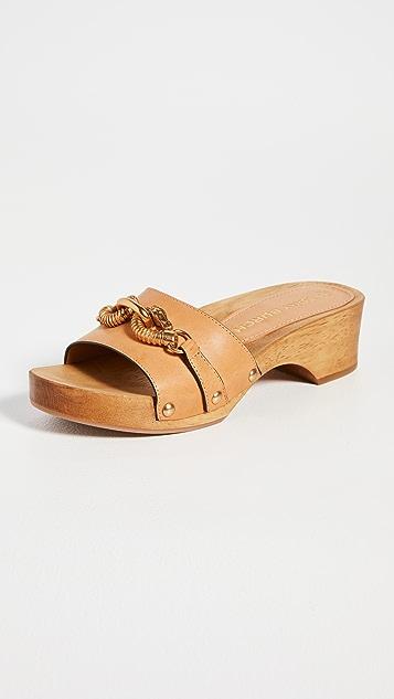 Tory Burch Jessa Clog Sandals