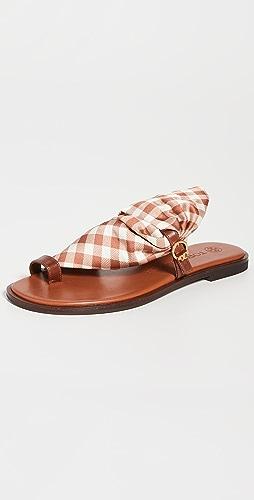 Tory Burch - Selby Scarf 凉鞋