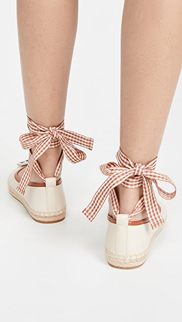 Tory Burch Minnie Ballet Espadrilles