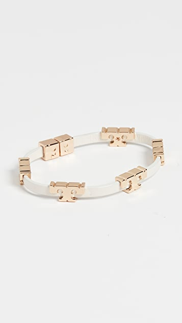 Tory Burch Serif-T Stackable Bracelet
