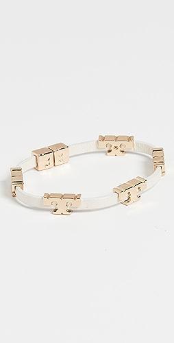 Tory Burch - Serif-T 堆叠手链