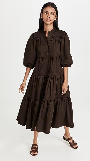 Tory Burch Artist Button Front Dress