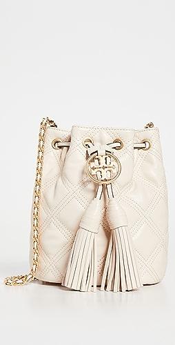 Tory Burch - Fleming Soft Mini Bucket Bag