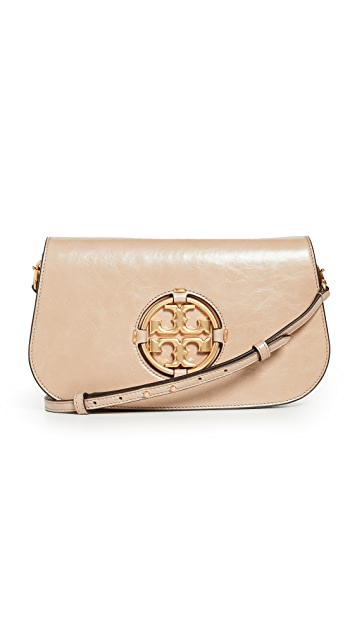 Tory Burch Miller Glazed Convertible Small Shoulder Bag