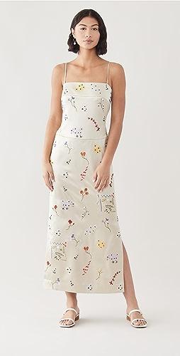 Tory Burch - Embroidered Sheath Dress