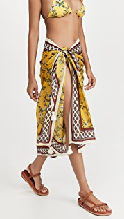 Tory Burch Printed Pareo Cover Up