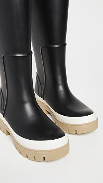 Tory Burch Foul Weather Tall Boots