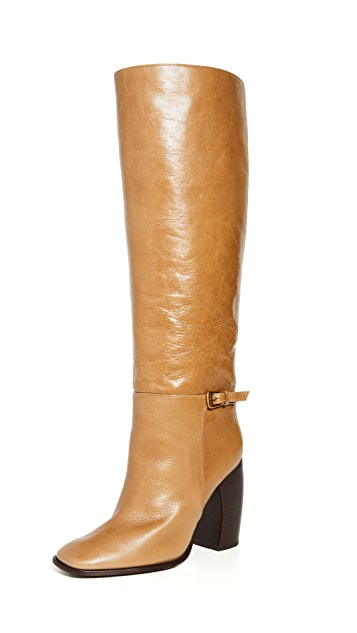 Tory Burch 汤丽柏琦 Banana Heel Boots