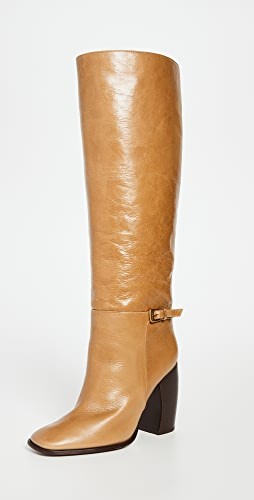 Tory Burch - Curved Heel Buckle Boots