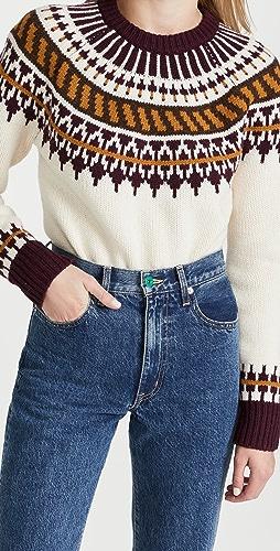 Tory Burch - Fair Isle Sweater