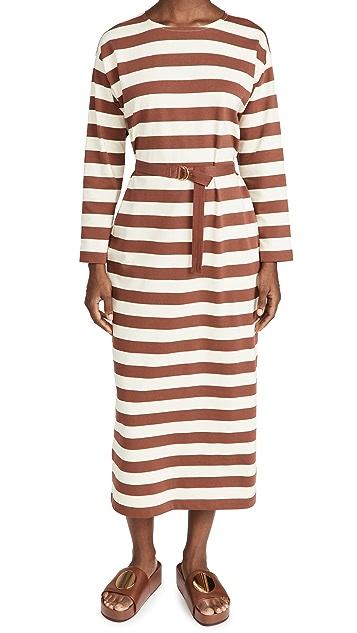 Tory Burch Jersey Striped Dress