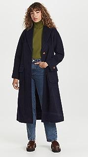 Tory Burch Wool Overcoat