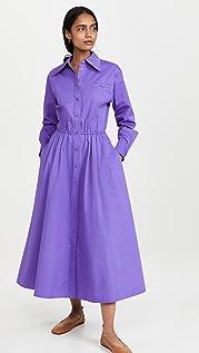 Tory Burch Eleanor Cotton Poplin Dress