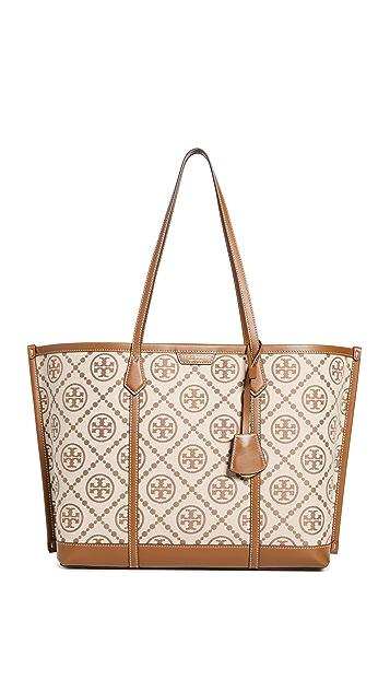 Tory Burch Perry T Monogram Jacquard Bag