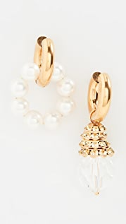 Timeless Pearly Mix and Match Hoops